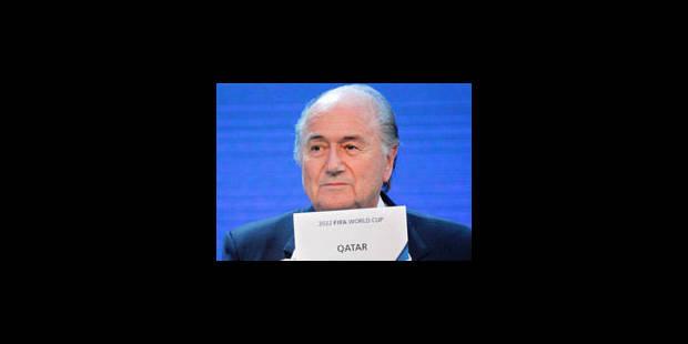 Le Qatar organisera le Mondial 2022 - La Libre