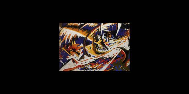 La redécouverte d'un peintre futuriste belge - La Libre