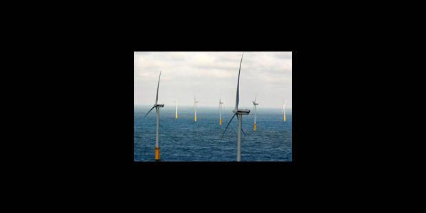 Colruyt inaugure ses éoliennes en mer - La Libre
