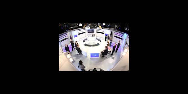 Télé Bruxelles dans les locaux de la RTBF: on cherche à passer de la fiction à la réalité - La Libre