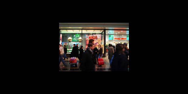 La neige jette un froid sur le shopping - La Libre