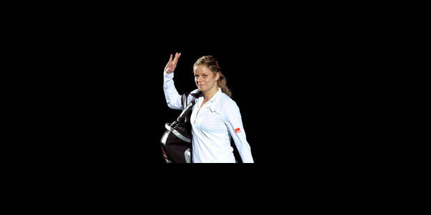 Prix de la presse internationale pour Kim Clijsters