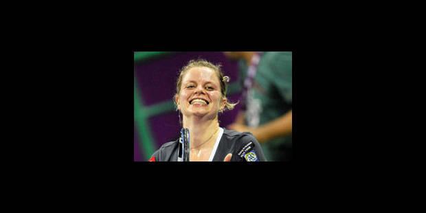Kim Clijsters, sportive de l'année pour la 7e fois - La Libre