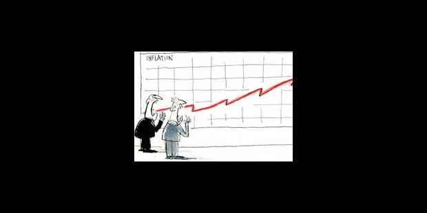 Et si l'inflation venait jouer les trouble-fête ? - La Libre