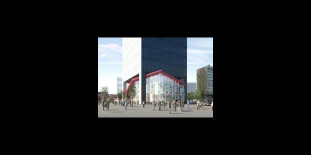 Quartier du Midi : une tour sans tête - La Libre
