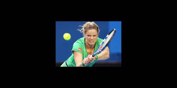 6-0/6-0: Kim Clijsters dans son jardin - La Libre