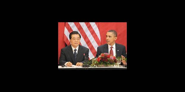 A Washington, Hu Jintao manie le langage de la fermeté sur Taiwan et le Tibet - La Libre