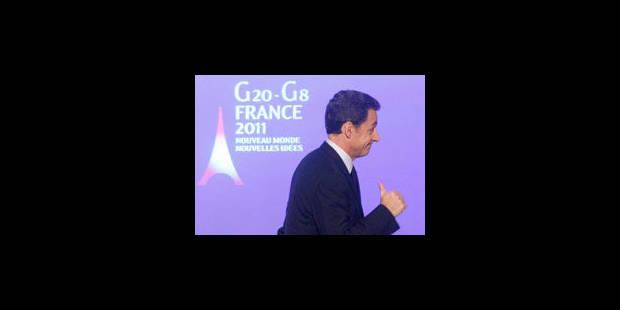 Rebondir grâce au G20 et convaincre les siens - La Libre