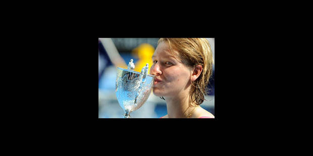 La belge An-Sophie Mestach remporte l'Open d'Australie juniores - La Libre