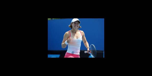 An-Sophie Mestach en finale de l'Open d'Australie chez les juniores - La Libre