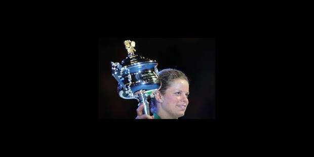Kim Clijsters, 2e, à 140 pts d'être N.1 mondiale