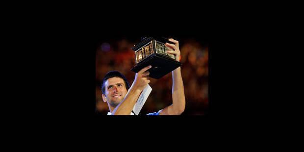 Novak Djokovic était sur un nuage - La Libre