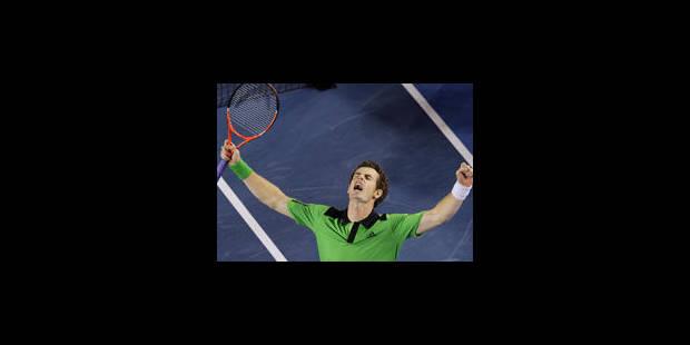 Murray, de haute lutte, rejoint Djokovic en finale - La Libre
