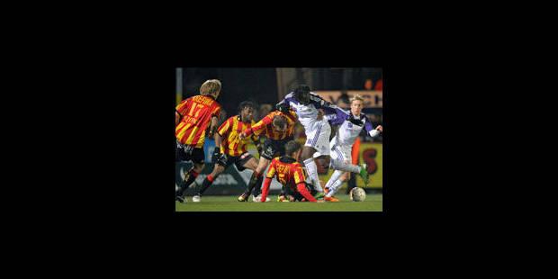 Anderlecht concède le nul à Malines - La Libre
