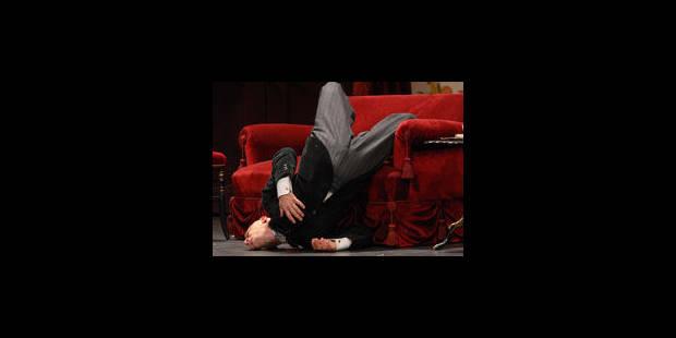 """Christian Hecq, """"acteur gymnaste"""" - La Libre"""