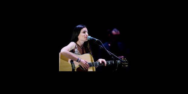 Yael Naim au festival Un Soir Autour du Monde - La Libre