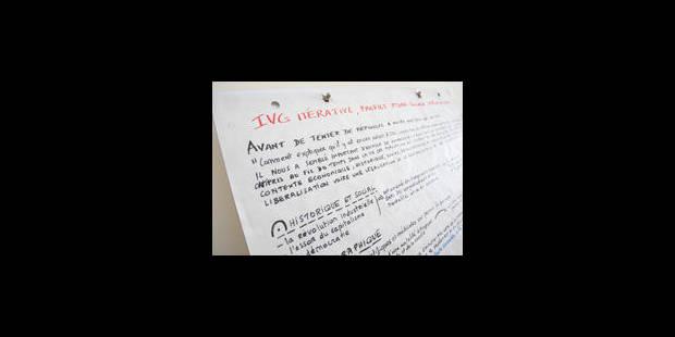 Une circulaire pro-IVG envoyée aux écoles - La Libre