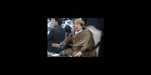 Libye: sit-in contre le régime dispersé par la police - La Libre