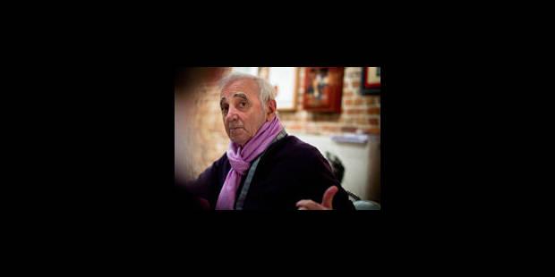 Aznavour, toujours - La Libre