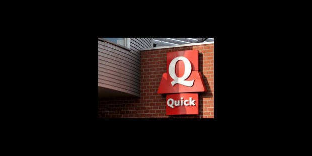 Quick prend des mesures pour améliorer la qualité de ses restaurants - La Libre