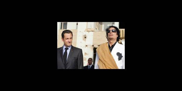 La France place sous surveillance les avoirs de Kadhafi - La Libre
