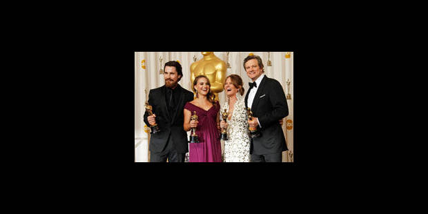 Oscars: Colin Firth et Natalie Portman couronnés - La Libre