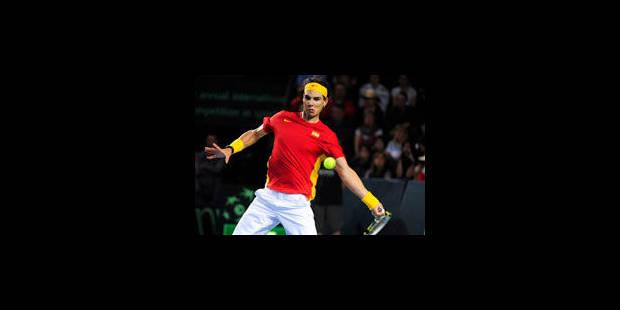 Rafael Nadal offre le deuxième point à l'Espagne