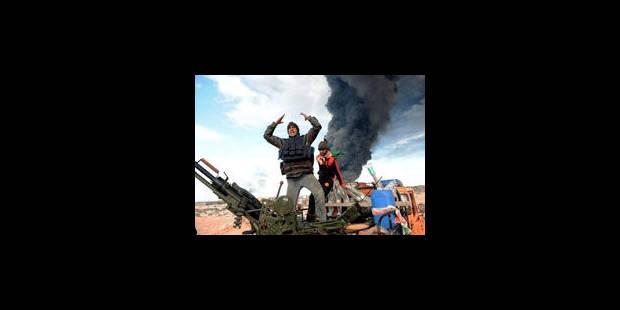"""""""Kadhafi et sa clique doivent partir"""" pour Cameron et Sarkozy - La Libre"""