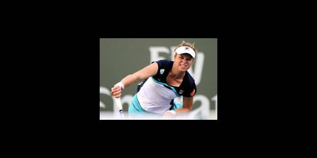 Clijsters et Wickmayer au 3e tour d'Indian Wells - La Libre