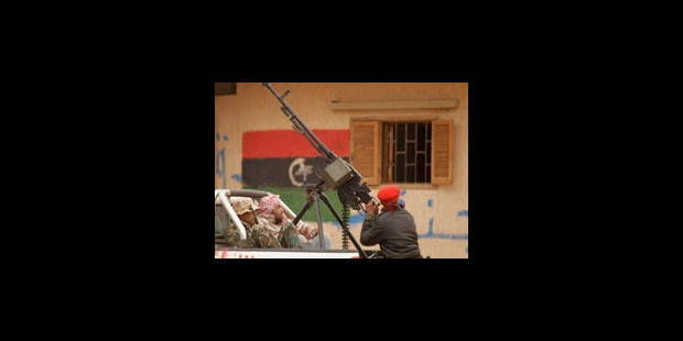 Benghazi, ville rebelle symbole, dans la visée des pro-Kadhafi - La Libre