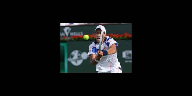 Indian Wells: Djokovic invaincu, Nadal et Federer en quarts - La Libre