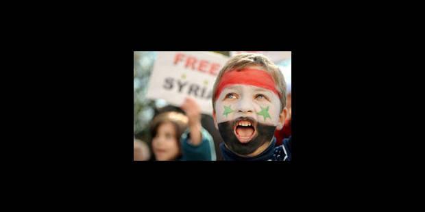 Syrie: les forces de sécurité tirent sur des manifestants - La Libre