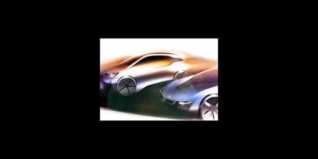 BMW i, la nouvelle marque électrique - La Libre