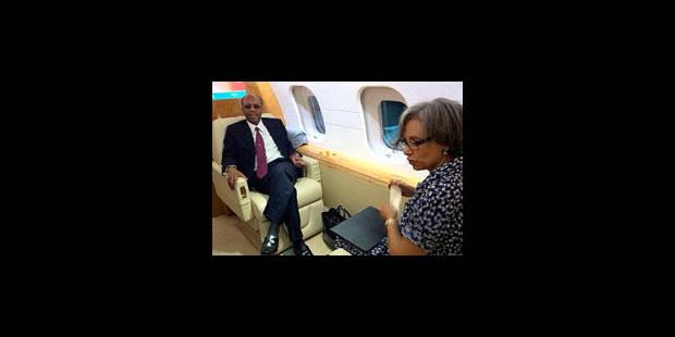 Haïti: l'ancien président Aristide retrouve son pays après sept ans d'exil - La Libre