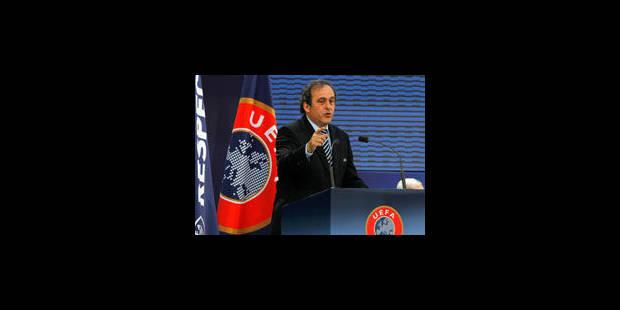 Michel Platini réélu à la présidence de l'UEFA - La Libre
