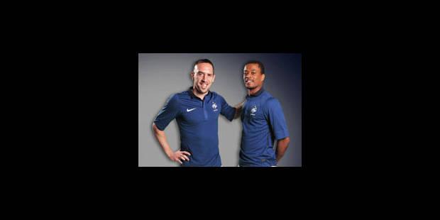 Ribéry et Evra placés sous surveillance en équipe de France - La Libre