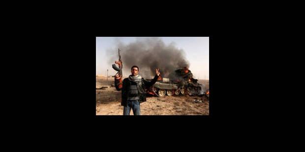 Libye : des F-16 belges ont attaqué un objectif au sol - La Libre