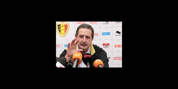 """Georges Leekens: """"Nous jouerons pour les 3 points contre l'Azerbaïdjan"""" - La Libre"""