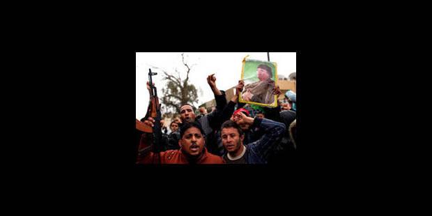 Libye: Kadhafi subit un revers mais ses forces font reculer les rebelles - La Libre