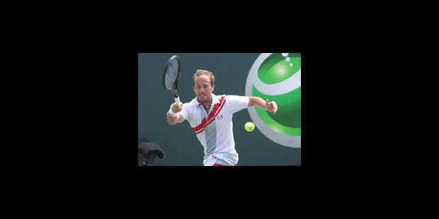 ATP Miami : Olivier Rochus bat Mikhail Youzhny et se hisse en 8e de finale - La Libre