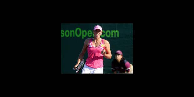 Yanina Wickmayer en quarts de finale à Charleston - La Libre