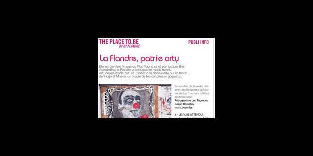 La Flandre diffuse à Paris une publicité situant Bruxelles sur son territoire - La Libre
