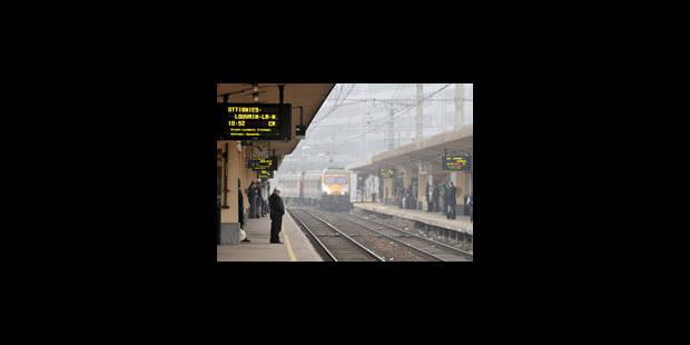 Trafic ferroviaire interrompu ce week-end entre Ottignies et Bruxelles-Luxembourg - La Libre