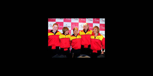 Même sans Clijsters la Belgique reste ambitieuse - La Libre