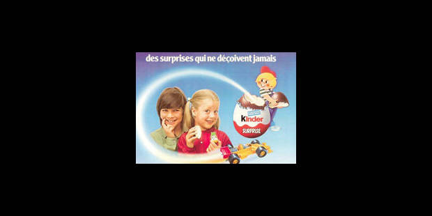"""30 milliards de """"Kinder Surprise"""" : et moi, et moi, et moi - La Libre"""