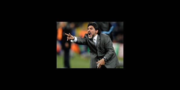 Diego Maradona entraîneur d'un club de Dubaï - La Libre