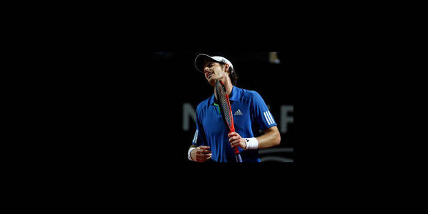 "Andy Murray: ""J'aurais dû gagner"" - La Libre"