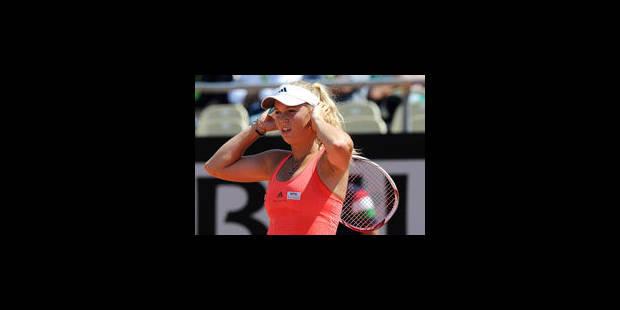 """Caroline Wozniacki: """"je me sens très en forme"""" - La Libre"""
