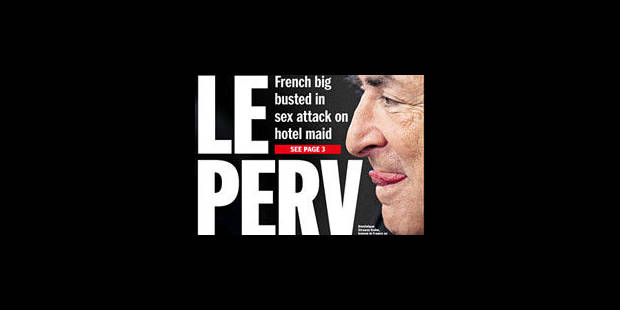 """Strauss-Kahn en """"Une"""" des journaux américains - La Libre"""