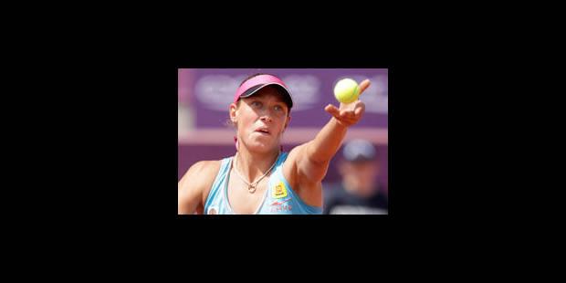 Yanina Wickmayer en quarts de finale - La Libre
